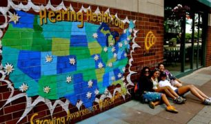 Hearing Health Tour Mural