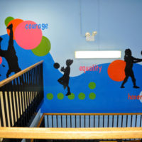 McCutcheon Elementary School, Chicago - Courage, Equality, Honor