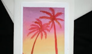palm+sunrise+card