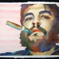 C.I.A. overthrew Guatemala's elected president. (Based on photo of Che Guevara by Rene Burr)