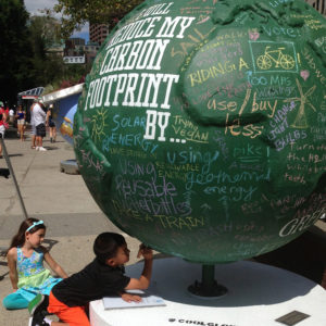 Cool Globes: Walk Your Chalk