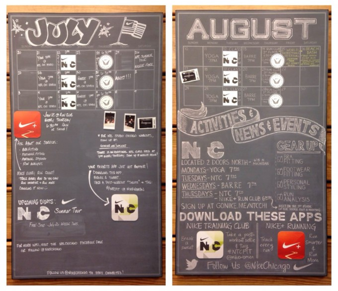 Niketown_sched_board