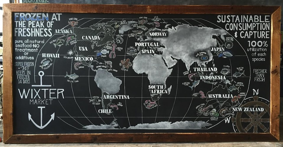 Giant chalkboard world map and retail boards for wixter fish unnamed 2 sciox Gallery